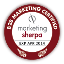 B2B Marketing Certified by MarketingSherpa