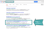 Achieving page one SERPs for long-tail keywords